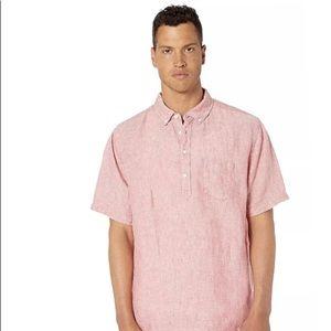 Men's Onia Josh Pullover Shirt- M Vintage Red